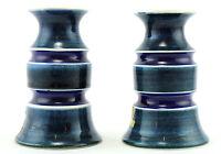 une paire de Anita Nylund chandeliers pour SYCO . Suédois Bleu & blanc années