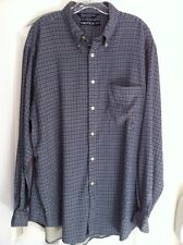 Nautica Shirt Men's Size XL Button-Front Cotton Long Sleeve Green