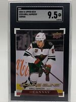 Kirill Kaprizov Young Guns Canvas #C225 Graded 9.5!!! Hot GRADED Card!!!