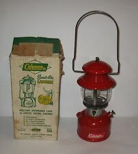 Vintage 1965 Coleman Lantern no 200 With Box and Instruction FREE SHIPPING