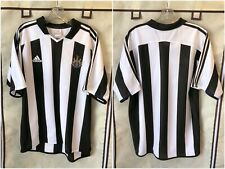 Newcastle United 2003/05 Home Soccer Jersey Large RARE European Kit Adidas