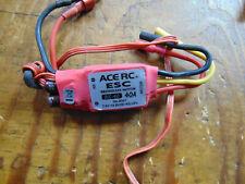ACE RC BLC- 40 40 AMP ESC WITH BEC SUIT MINI TITAN OR 450 SIZE HELI