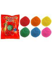 6x Mixed Colour Magic Bouncing Putty Party Loot Goody Bag Pinata Toys Fillers UK