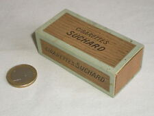 ANCIENNE BOITE PUB CIGARETTES EN CHOCOLAT SUCHARD