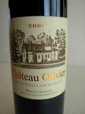 CHÂTEAU OLIVIER 2005 (rouge) - PESSAC LEOGNAN - GRAND CRU CLASSE