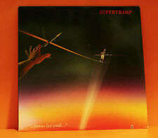SUPERTRAMP - FAMOUS LAST WORDS - A&M 1982 WITH LINER EX/NM LP VINYL RECORD-Q