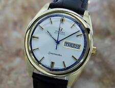 Omega Seamaster Swiss Made 1960s Rare Automatic Gold Capped Mens Watch MX10