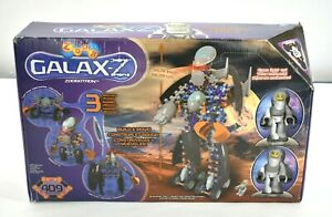 Zoob Galax-Z Zoobotron Build Cyber Droid 409 Piece Building Toy Alien Robot New