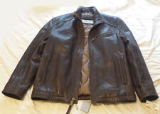 Marc New York by ANDREW MARC Norman Brown Leather Jacket size M