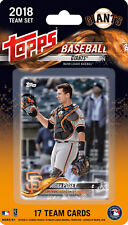 San Francisco Giants 2018 Topps Factory Sealed Team Set Buster Posey Longoria