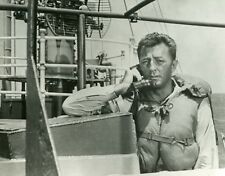 ROBERT MITCHUM TORPILLES SOUS L'ATLANTIQUE THE ENEMY BELOW DICK POWELL PHOTO CM