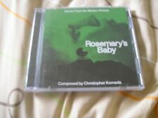 Rosemary's Baby Christopher Komeda soundtrack [Audio CD] Lala Land release