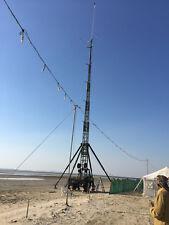 Antennenmast Teleskopgittermast Windkraft Mast Mast 25 m free WIFI WLAN Mast