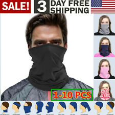 Multi-use Tube Scarf Bandana Head Face Mask Neck Gaiter Head Wear summer,10/ Lot