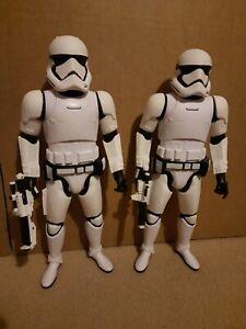 Star Wars Jakks Pacific First Order Stormtrooper (×2)