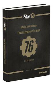 Fallout 76 Das offizielle Lösungsbuch Collector's Edition Deutsch Hardcover NEU
