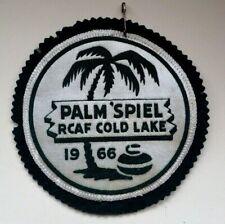 "Vintage Curling Patch - Palm ""Spiel RCAF Cold Lake 1966"