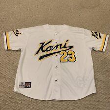 Karl Kani Sport Baseball Jersey Streetwear Hip Hop Rap Apparel Mens XL