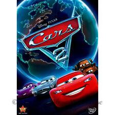 Disney Pixar Car Racing Bond Style Spy Movie Monaco World Grand Prix Cars 2 DVD