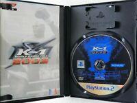 K-1 WORLD GRAND PRIX 2003 PS2 KONAMI Sony Playstation 2 From Japan