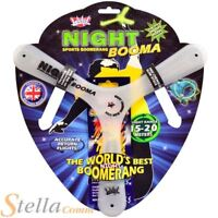 Wicked Vision Night Booma With Glow Stick Summer Garden Boomerang Frisbee Toy