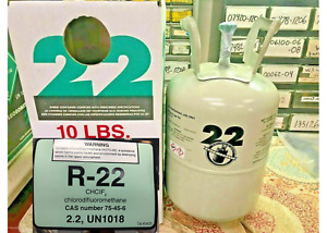 Refrigerant 22, r22, r-22, 10 lb, Sealed, Best Value On eBay, Fast Free Shipping