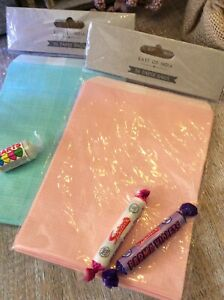 Pack 24 x Party Bags Sweet Cart Bags Gift Bags Pink or Blue East of India