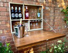 Wall Mounted Garden Bar - Garden Bar - Murphy Bar - Fold Away Bar