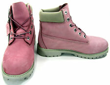 Timberland Shoes 6 Inch Prem Juniors Baby Pink Boots Men 7 Womens 9