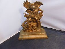 antique victorian statue  man and women statue