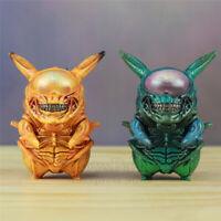 Funny Action Figure Delicay Pikachu Pokemon Aliens Predator GAME FREAK Doll Toy