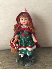 Madame Alexander Doll Little Red Riding Hood Resin Doll #90190