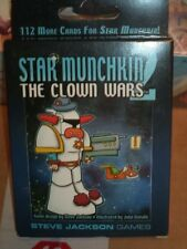 Star Munchkin 2 The Clown Wars - Steve Jackson Games Card Board Game New!
