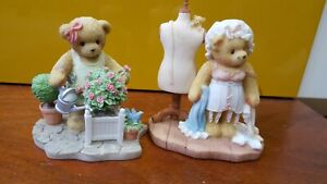 Bundle of Cherished Teddies Sarah (limited edition) and Poppy