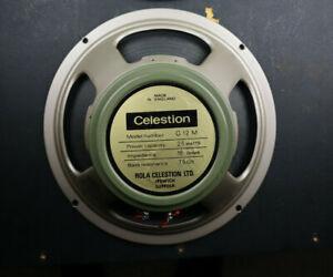 1971 Celestion 55hz G12M T1511 Greenback 12 loudspeaker Vintage Pulsonic Speaker