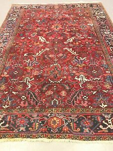 antico-swiss Beautiful Antique indoHERIZI rug 7`3 x 9`3 ft