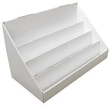 Medium Cardboard 4 Tier Counter Display Unit; Perfect for Greetings Cards
