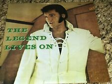 ELVIS PRESLEY VINYL LP THE LEGEND LIVES ON # PCS 1001 STILL SEALED