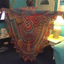 Bohemian Style Hippie Chic Crocheted Sweater Vest BoHo Festival Clothing