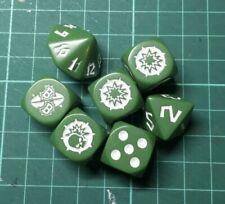 Blood Bowl Verde Orco dice Set-Blood Bowl