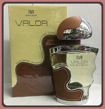 RICH & RUITZ VALOR POUR HOMME 3.33 OZ EAU DE PARFUM NEW IN BOX
