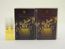 2 x Amouage JUBILATION 25 Woman Eau de Parfum Vial Spray 2ml New With Card