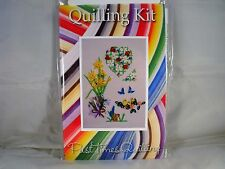 COMPLETE QUILLING KIT WITH TOOL + PAPER + INSTRUCTIONS SPRING CARDS No 1 KD 17