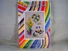 COMPLETE Quilling Kit con Strumento + carta + istruzioni CARTE A MOLLA N. 1 KD 17
