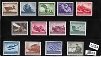 #6253   Complete MNH stamp set / 1944 Military set / Third Reich / WWII Germany