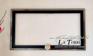 Cornice classica moderna su misura legno sistema scorrevole cassaforte Dea Capri