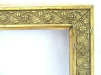 "Antique Fit 8 X 10"" Gold Gilt Picture Frame Wood Gesso Fine Art ORNATE AESTHETIC"