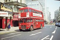PHOTO London Transport AEC Routemaster RMA5 NMY635E in 1977 at London Victoria a