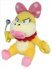 "New Super Mario Bros USA 7"" Wendy Koopa Stuffed Plush Doll Toy From Little Buddy"