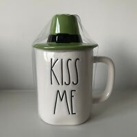 New Rae Dunn Kiss Me Hat Topper Figural St. Patricks Day 2021 Mug Online Release